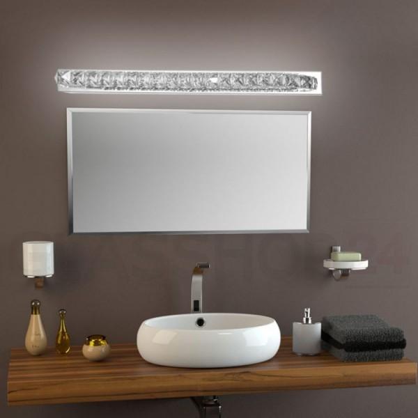 Kinkiet kryształowy lampa ścienna kryształowa nad lustro
