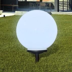 Lampa ogrodowa solarna średnica 40 cm