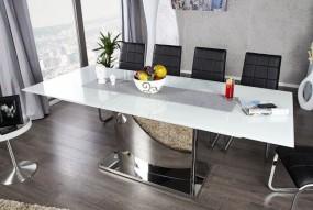 Stół szklany do jadalni 180-220 chrom nowość!