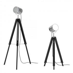 Lampa podłogowa metalowa 64-140 cm model Studio