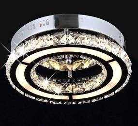 PLAFON LED SZKLANE KRYSZTAŁY LAMPA SUFITOWA HIT