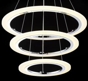 LAMPA SUFITOWA 3 KRĘGI LED NOWOCZESNA HIT