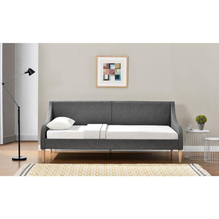 Sofa szara kanapa 90x200 ko dzienne sklep for Sofa 90x200