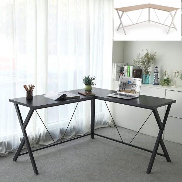 Biurko komputerowe narożne duży blat stół ława na komputer