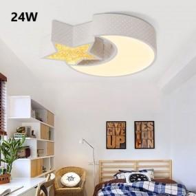 LAMPA SUFITOWA PLAFON KSIĘŻYC LED 24W PILOT HIT