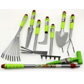 Zestaw narzędzi ogrodowych komplet 9 sztuk