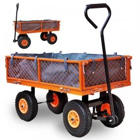Wózek transportowy praktyczny kosz na sprzęt