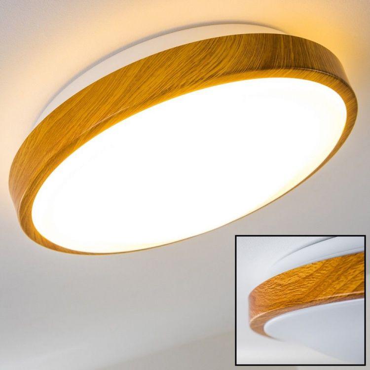 Lampa Sufitowa Led Okrągła Oświetlenie Sufitowe Salon