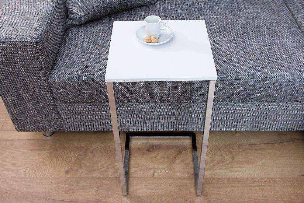 Stolik Kawowy Stół Pod Laptopa Biały Czarny Sklep Kochamymeblepl