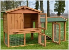 Klatka dla kur królików gryzoni drewniana kurnik klatka dla zwierząt