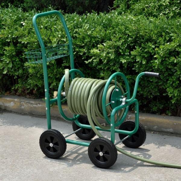 Solidny wózek na wąż ogrodowy 70 m