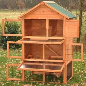 Klatka dla królików 3 piętra pomieszczeń klatka dla zwierząt