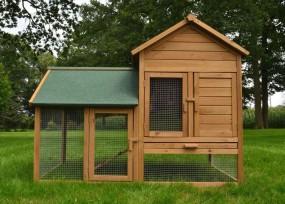 Kurnik drewniany klatka dla kur królików klatka dla zwierząt HIT