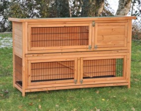 Klatka dla królików 2 piętra klatka dla zwierząt HIT