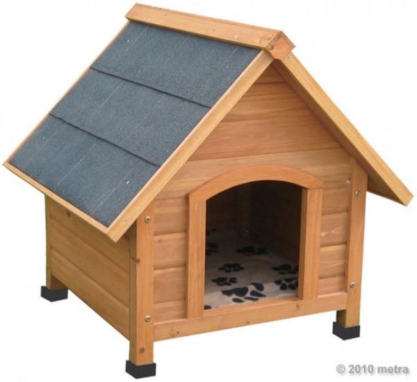 Drewniana buda dla psa klatka do ogrodu