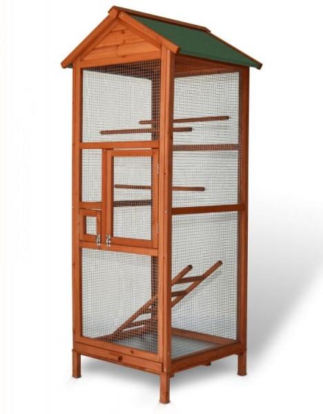 Klatka dla zwierząt klatka dla ptaków egzotycznych woliera drewniana