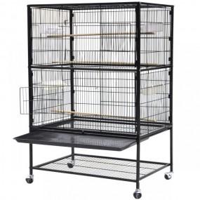 Woliera klatka dla ptaków klatka dla zwierząt metalowa