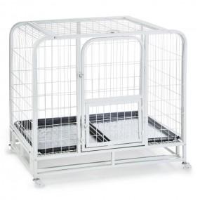 Transporter klatka transportowa dla psa kota biała