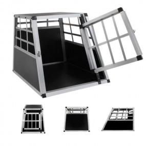 Transporter klatka transportowa dla psa kota z aluminium M
