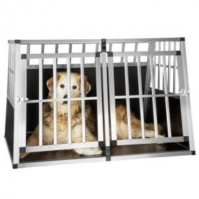 PODWÓJNY Transporter klatka transportowa dla psa kota psów kotów XXL