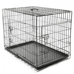 Transporter klatka transportowa dla psa kota królika składana L