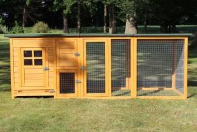 Kurnik klatka dla kur królików klatka dla zwierząt domek duży wybieg