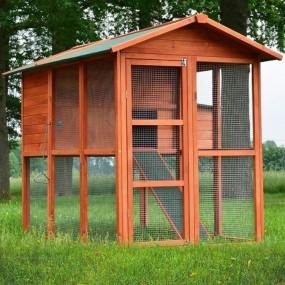 Kurnik klatka dla kur królików klatka dla zwierząt duży domek
