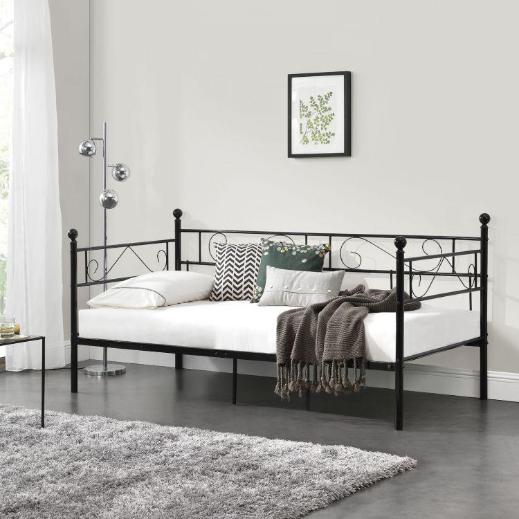 łóżko Metalowe Z Materacem 90x200 Sklep Kochamymeblepl