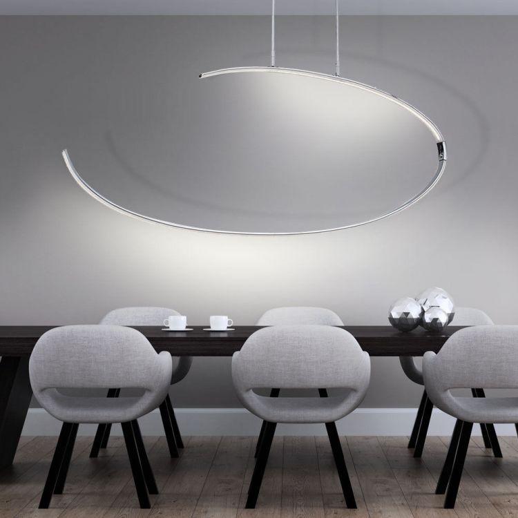 Lampa Sufitowa Wisząca 27w Led Salon Jadalnia Oświetlenie