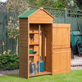 Domek ogrodowy na narzędzia drewniany schowek komórka szopka magazyn