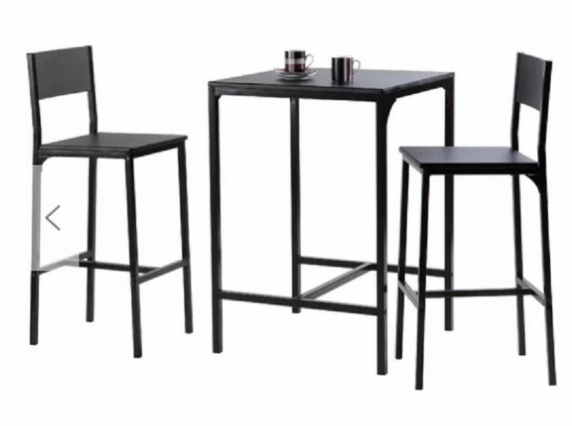 Stolik Kuchenny Barowy Barek 2 Krzesła Stół Barowy Stołek