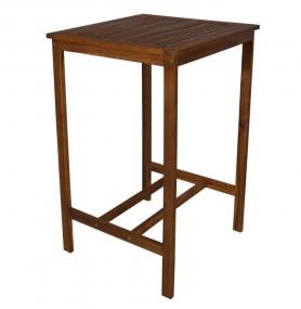 Stolik barowy solidny stół drewniany do hokerów do hokera do baru jadalni kuchni z naturalnego drewna