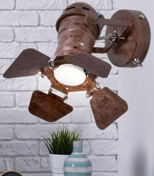 Regulowany reflektor kinkiet lampa naścienna loft