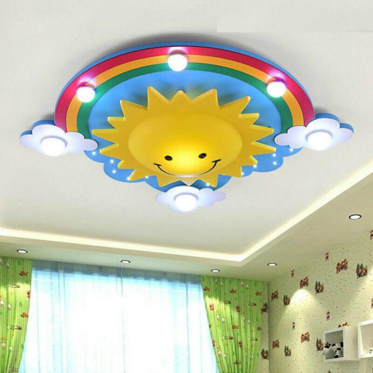 Lampa sufitowa wisząca dla dzieci plafon do pokoju