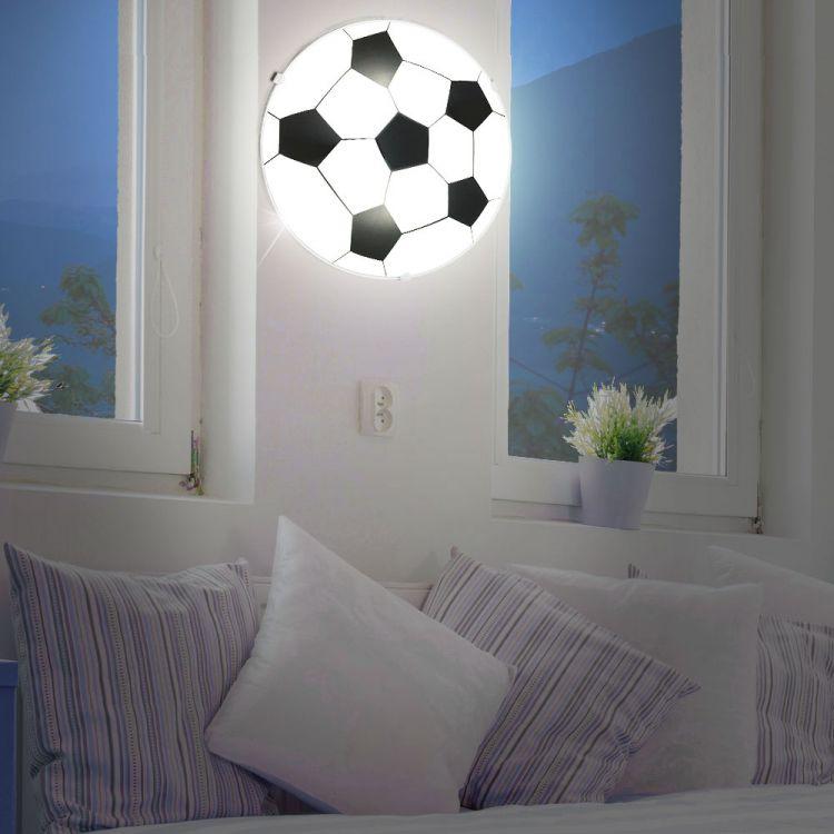 Lampa Sufitowa Piłka Oświetlenie Dla Dzieci Plafon Do Pokoju