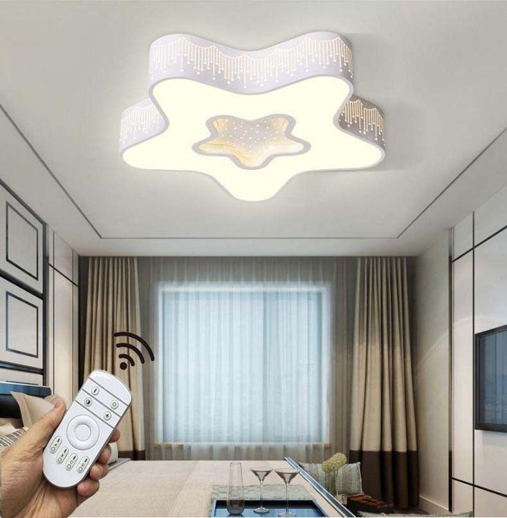 Lampa Sufitowa 2 Kolory Oświetlenie Dla Dzieci Plafon Do