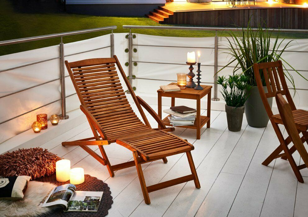 Leżak Drewniany 150cm Leżak Spa Meble Ogrodowe Relax Podłokietniki Leżanka Sofa łóżko Do Opalania Regulowane