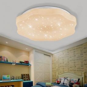 Lampa sufitowa nowoczesna regulacja ściemniania plafon salon korytarz sypialnia 36W+pilot
