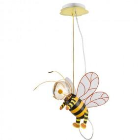 Lampa dziecięca dla dziecka wisząca oświetlenie do pokoju dziecięcego pszczółka maja