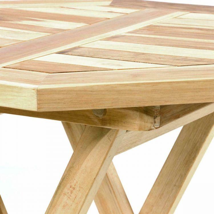 Zestaw Mebli Ogrodowych Stół 2 Krzesła Zestaw Stolik Z Krzesłami Drewno Taras Balkon Ogród Meble Drewniane