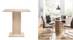 Stół do jadalni mały drewniany kwadratowy stolik kuchenny