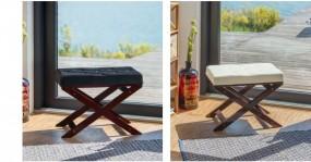 Hoker do toaletki pikowany ławka do fortepianu krzesło skórzany siedzisko stołek