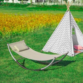 Solidny leżak bujak hamak dziecięcy huśtawka dla dzieci poduszka relaks