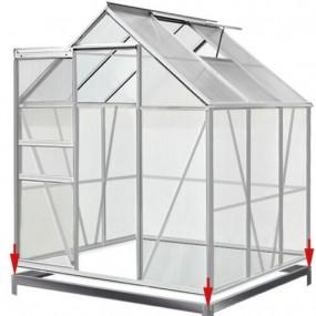 Szklarnia poliwęglanowa namiot tunel ogrodowy uprawa ogród 5,85 m³/ 3,1 - 5 m²