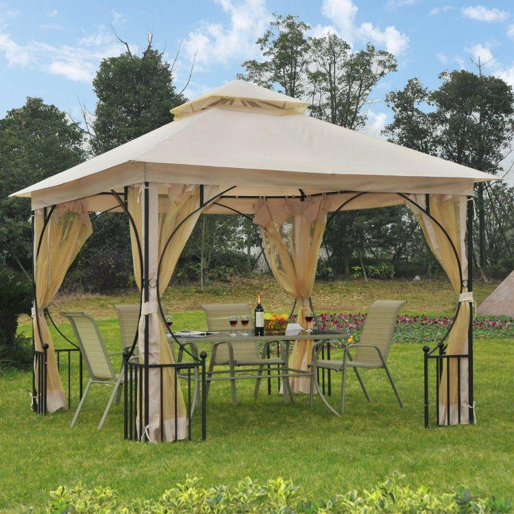 Stylowa Altana Ogrodowa 3 X 3 M Pawilon Namiot Imprezowy Zadaszenie Do Ogrodu