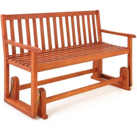 ławka Bujana 2 Osobowa Fotel Bujany Ogrodowy Huśtawka Drewniana