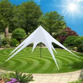 Duży pawilon ogrodowy altana parasol gwiazda do ogrodu zadaszenie 14 m namiot imprezowy