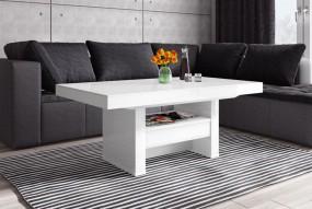 Stół do jadalni rozkładana ława stolik wysoki połysk  glamour