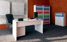 Biurko wysoki połysk konsola stolik do manicure elegancki
