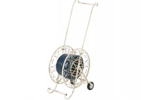 Wózek uchwyt na wąż ogrodowy antyczny